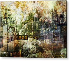 Dream In A Dream Acrylic Print