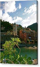 Dream Of Vernazza Acrylic Print by  K Scott Williamson
