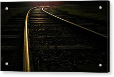 Acrylic Print featuring the photograph Dream Rails by Brian Hughes