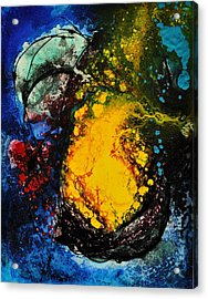 Acrylic Print featuring the painting Dream Seed by Christine Ricker Brandt