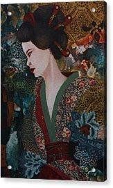 Dreaming Japan Acrylic Print by Gonca Yengin