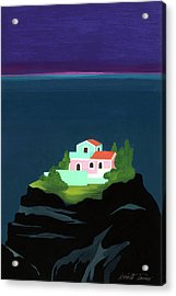 Dreaming Of Sicily Acrylic Print by Isabelle Tanner