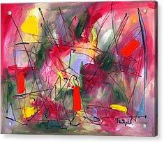 Dreams At Dawn Acrylic Print