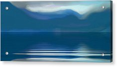 Dreams Of The Lakes Acrylic Print by Susan  Solak
