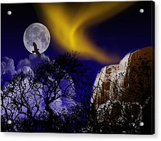 Acrylic Print featuring the mixed media Dreamscape 1 by Bruce Ritchie