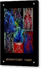 Dress Series Cover Acrylic Print