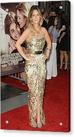 Drew Barrymore Wearing A Catherine Acrylic Print by Everett