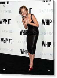 Drew Barrymore Wearing A Lwren Scott Acrylic Print by Everett
