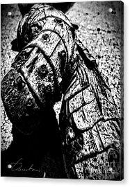 Driftwood Acrylic Print by Danuta Bennett