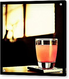 #drink Of The Day... Is A bubblegum Acrylic Print