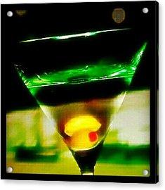 Drink Of The Day...martini. #martini Acrylic Print