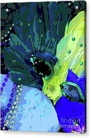 Drop The Mask Princess Acrylic Print by Joe Jake Pratt