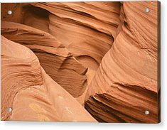 Drowning In The Sand - Antelope Canyon Az Acrylic Print by Christine Till