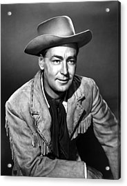 Drum Beat, Alan Ladd, 1954 Acrylic Print by Everett