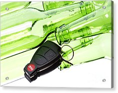 Drunk Driving Acrylic Print by Blink Images