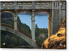 Dry Canyon Bridge Acrylic Print