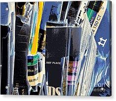 Dry Storage Acrylic Print by Joe Jake Pratt