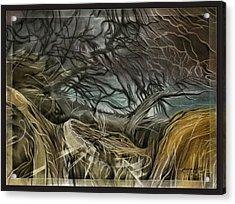 Drytreescape 2009 Acrylic Print