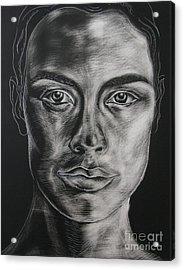 Duality Acrylic Print by Iglika Milcheva-Godfrey