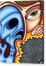Duality Acrylic Print by Jason Hawn