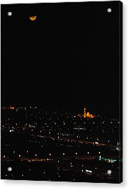 Acrylic Print featuring the photograph Dubai At Night by Steven Richman