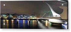 Dublin City Acrylic Print by Brendan O Neill