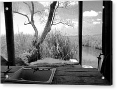 Duck Camp Acrylic Print by Rdr Creative