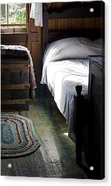 Acrylic Print featuring the photograph Dudley Farmhouse Interior No. 1 by Lynn Palmer