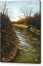 Duffins Creek Ajax Acrylic Print by Sharon Steinhaus