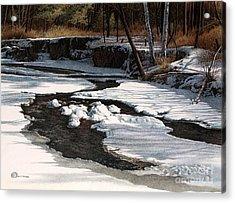 Duffins Creek II Acrylic Print