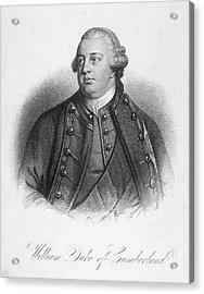 Duke Of Cumberland Acrylic Print by Granger