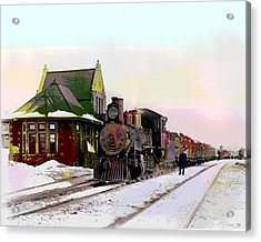 Duluth And Iron Range Railroad Acrylic Print by Charles Shoup