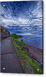 Duluth Lake Superior Trail Acrylic Print