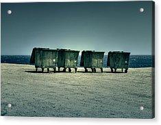 Dumpster Acrylic Print by Joana Kruse