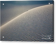 Dune Acrylic Print by Keith Kapple