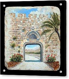 Dung Gate  Acrylic Print by Miki Karni