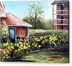 Dunleith In Yellow Acrylic Print