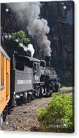 Durango And Silverton Historic Train Acrylic Print by Stuart Wilson and Photo Researchers