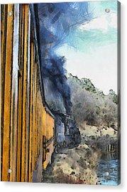 Durango Silverton Painterly 3 Acrylic Print