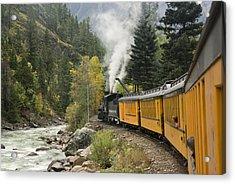 Durango-silverton Train - 1161 Acrylic Print