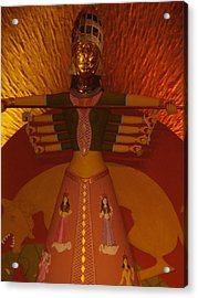 Durga Acrylic Print by Prasenjit Dhar