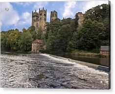 Durham Cathedral Acrylic Print by Trevor Kersley