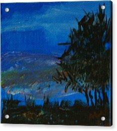 Dusk Til Dawn Acrylic Print by Maria  Wall