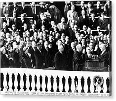 Dwight Eisenhower First Inauguration Acrylic Print by Everett