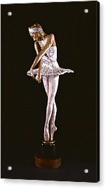 Dying Swan Acrylic Print by Lois Black