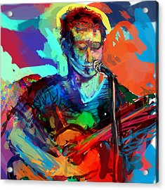Dylan's Performance Acrylic Print by James Thomas