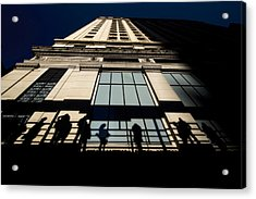 Dynamic People Shadows Acrylic Print by Sven Brogren