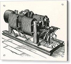 Dynamo Electric Machine Acrylic Print by Science Source