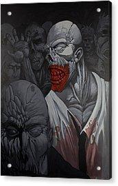 E Pluribus Unum Acrylic Print by Jake Perez