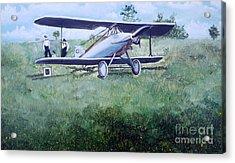 E Ppley Airfield Acrylic Print by Judy Groves